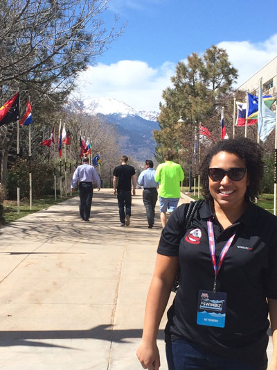#SwimBiz conference at the Olympic Training Center in Colorado